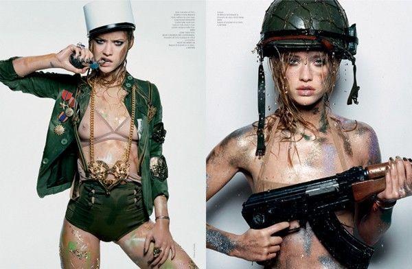 Beauty-militaire