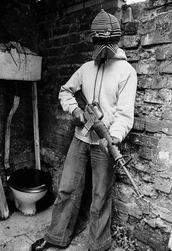 Belfast, Irlande du Nord, 1977