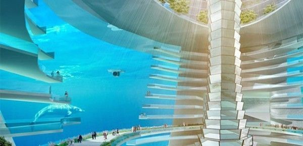 ville sous marine chine