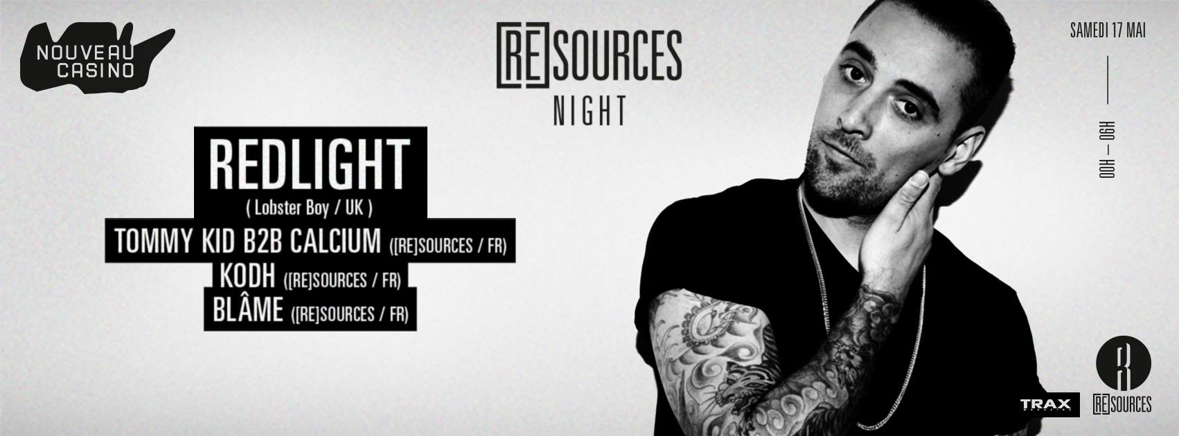 Redlight - Tommy Kid B2B Calcium Kodh Resources Night