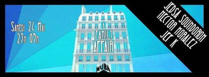 dj ez nuba a family affair