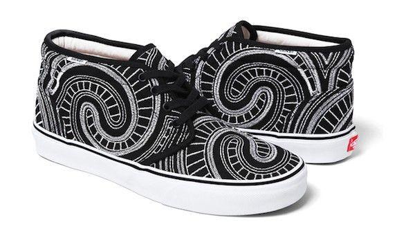 vans supreme shoes up