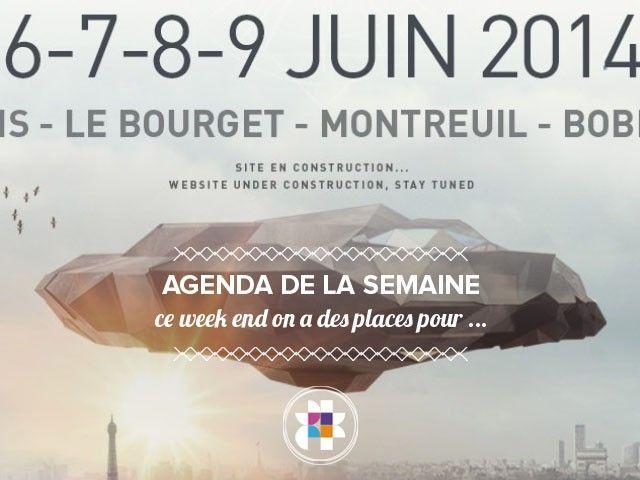 Agenda de la semaine Weather Festival