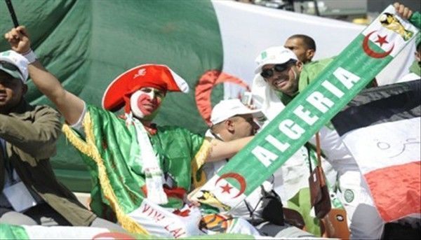 Algérie suporters