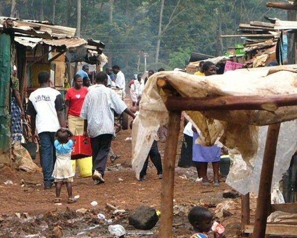 Cameroun bidonville