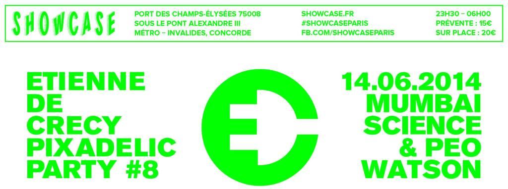 Etienne de Crecy Pixadelic Party