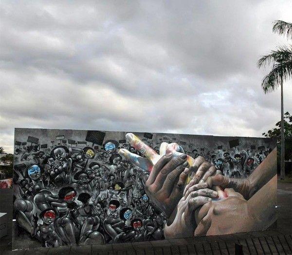 Street art gigantesque