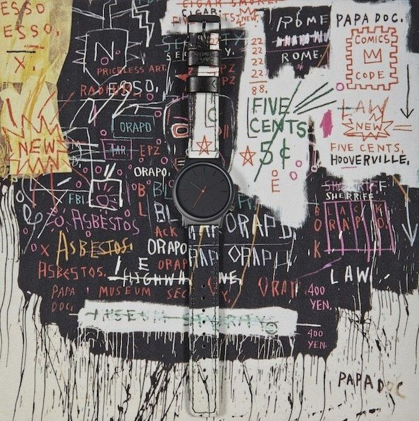basquiat montre