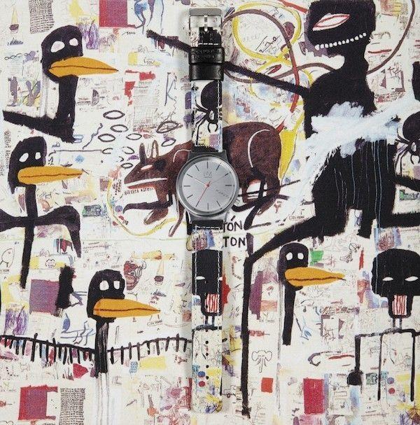Jean-Michel Basquiat montres