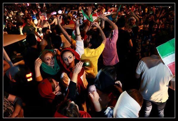iran celebration