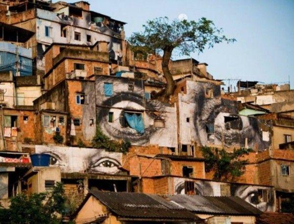 street art favelas