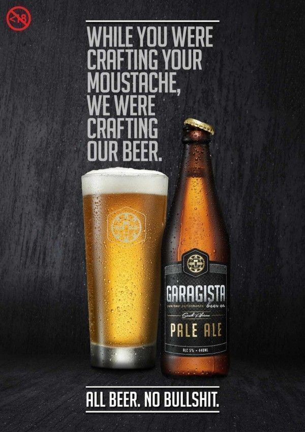 biere garagista moustache hipsters