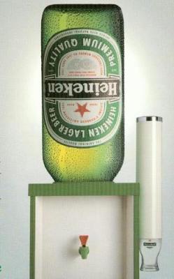 pub evian fontaine bureau biere