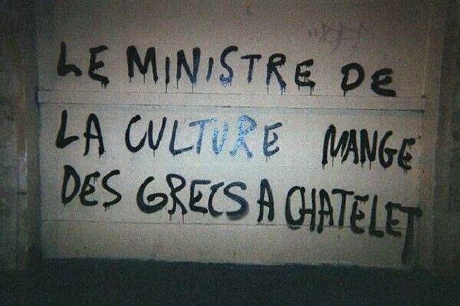 le-ministre-de-la-culture-mange-des-grecs-à-châtelet