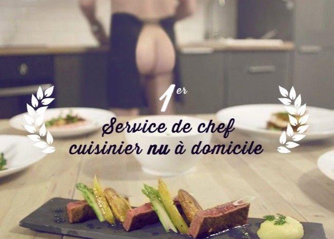 nudistes france cuisinier domicile nu