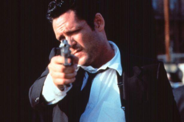 Michael-Madsen i Reservoir Dogs