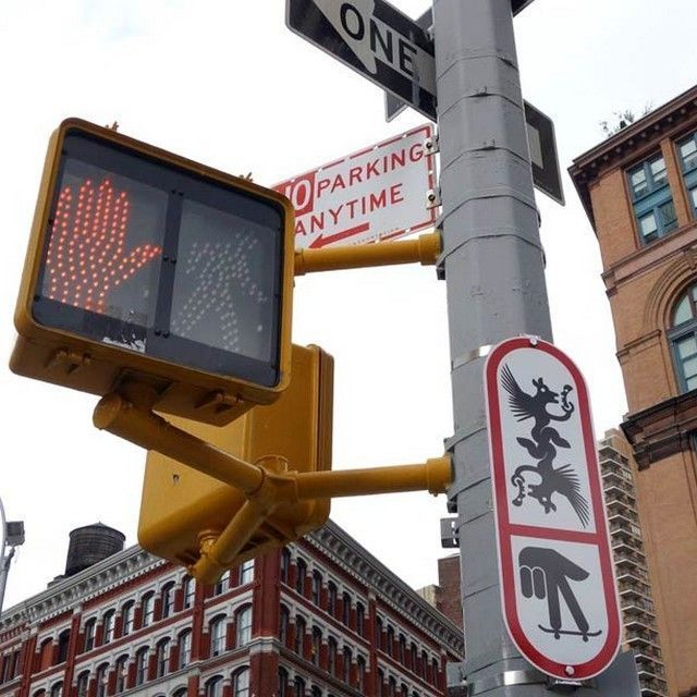 Ryan-McGinness-street-art-signs-8
