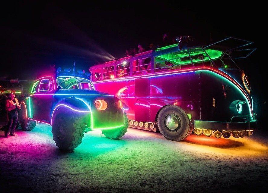 burning man festival vehicules