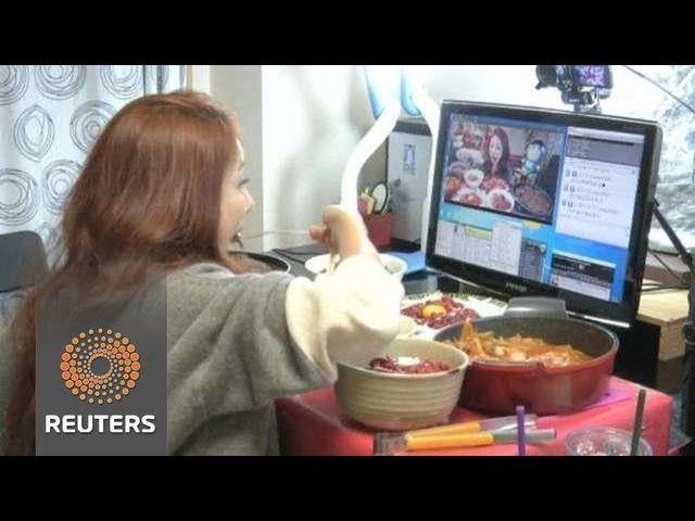 voyeurisme se filmer en mangeant