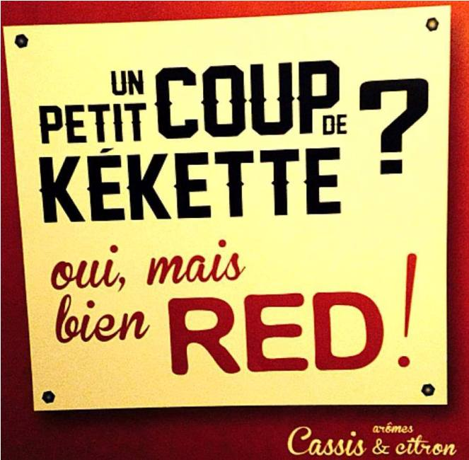 Kékette-red