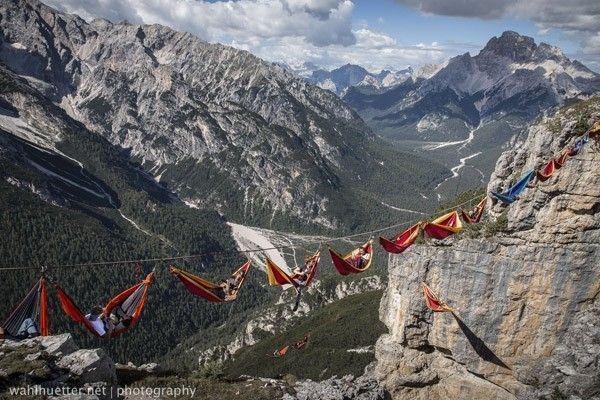 Hamac Dolomites Sebastian Wahlhuette