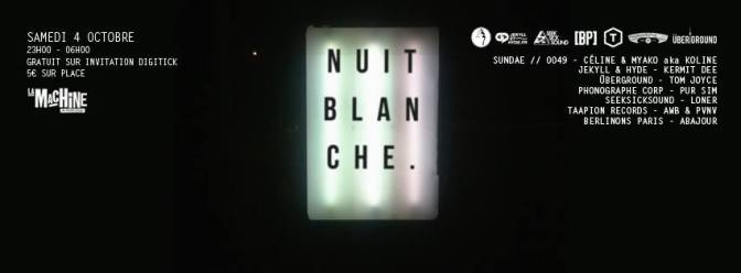 nuit blanche machine dixon