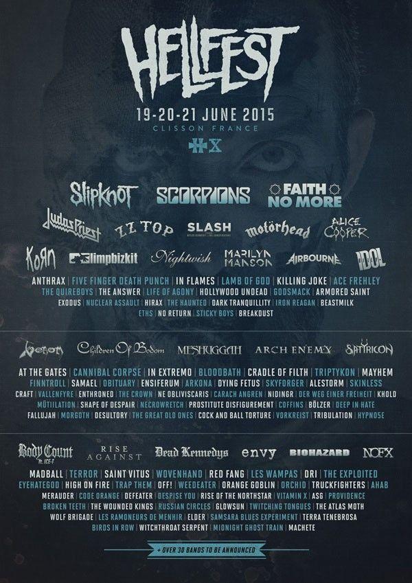 Hellfest-2015-programmation