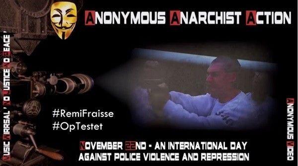 anonymous gendarmerie française