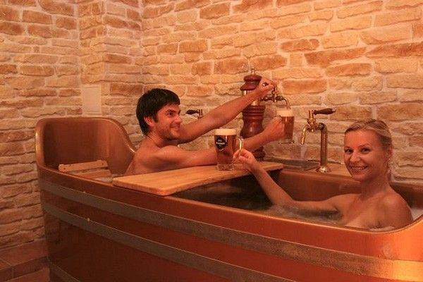 bain à bieree