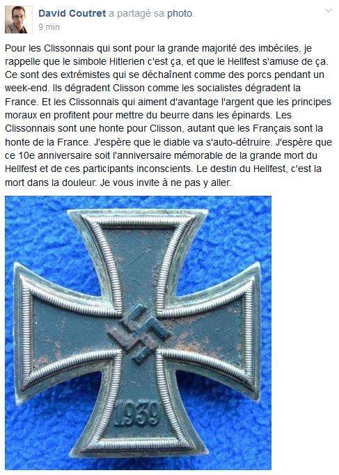 Hater clisson raciste