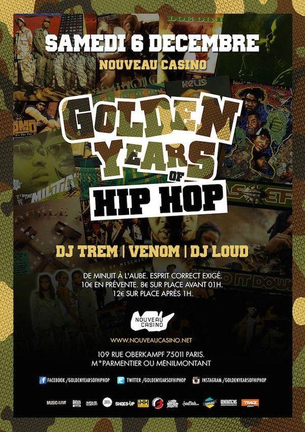 hip hop golden party
