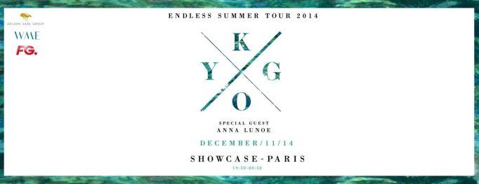 kygo blank showcase