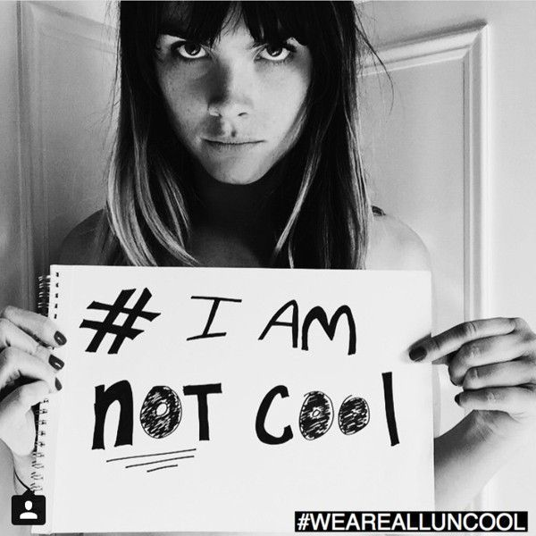 i am not cool