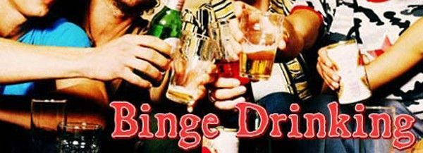 binge drinking filles