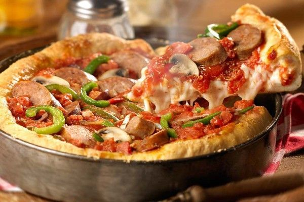 Deep Dish pizza