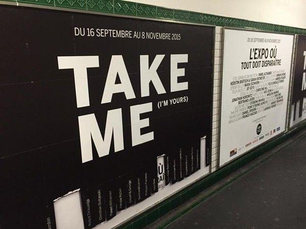campagne tbwa métro république take me i'm yours