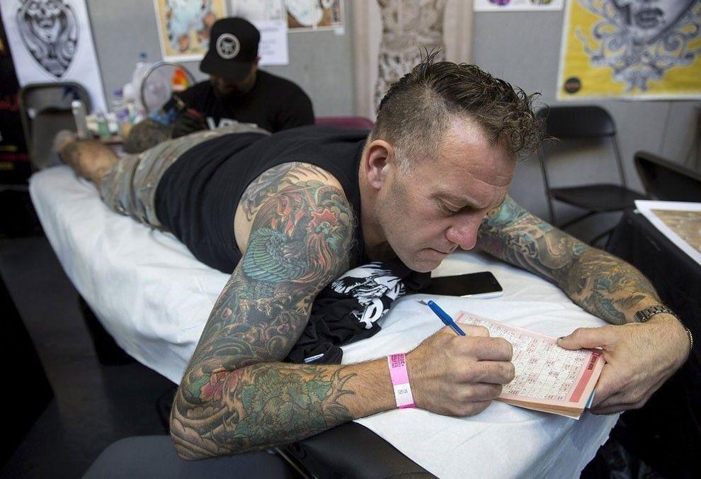 convention de tatouage Londres
