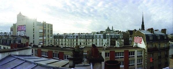 rooftop graffiti paris jean-yves donati sacré coeur