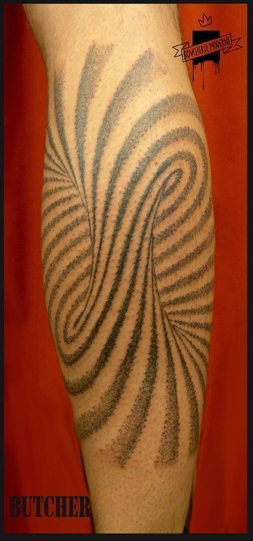 spirale tatouage