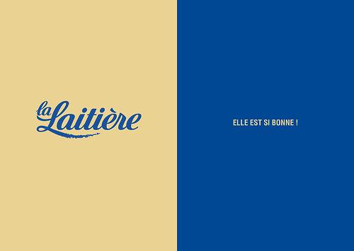 slogan La-laitiere