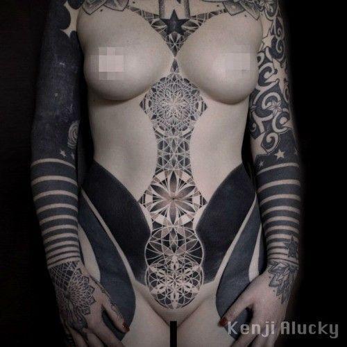 body tatouage