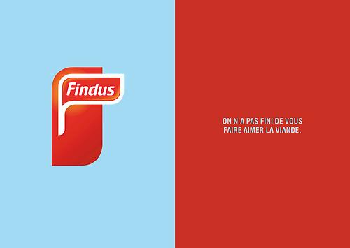 nouveau slogan findus