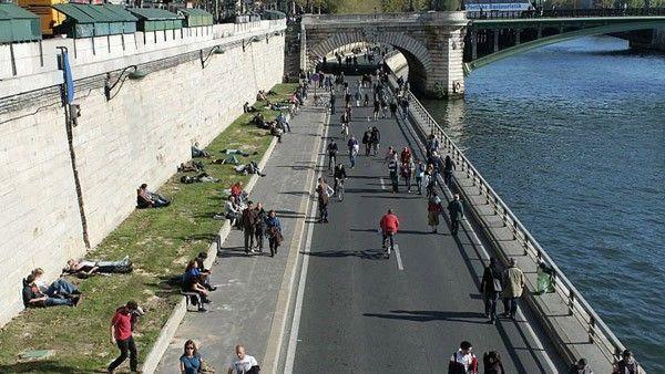 voie georges pompidou paris