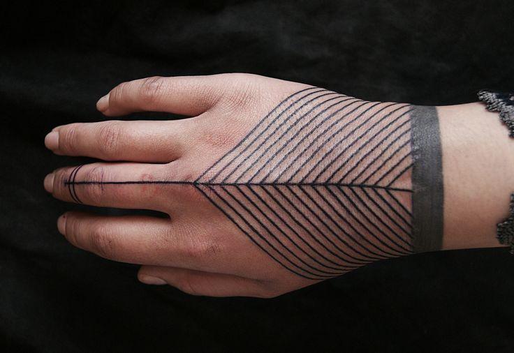 ligne tatouage