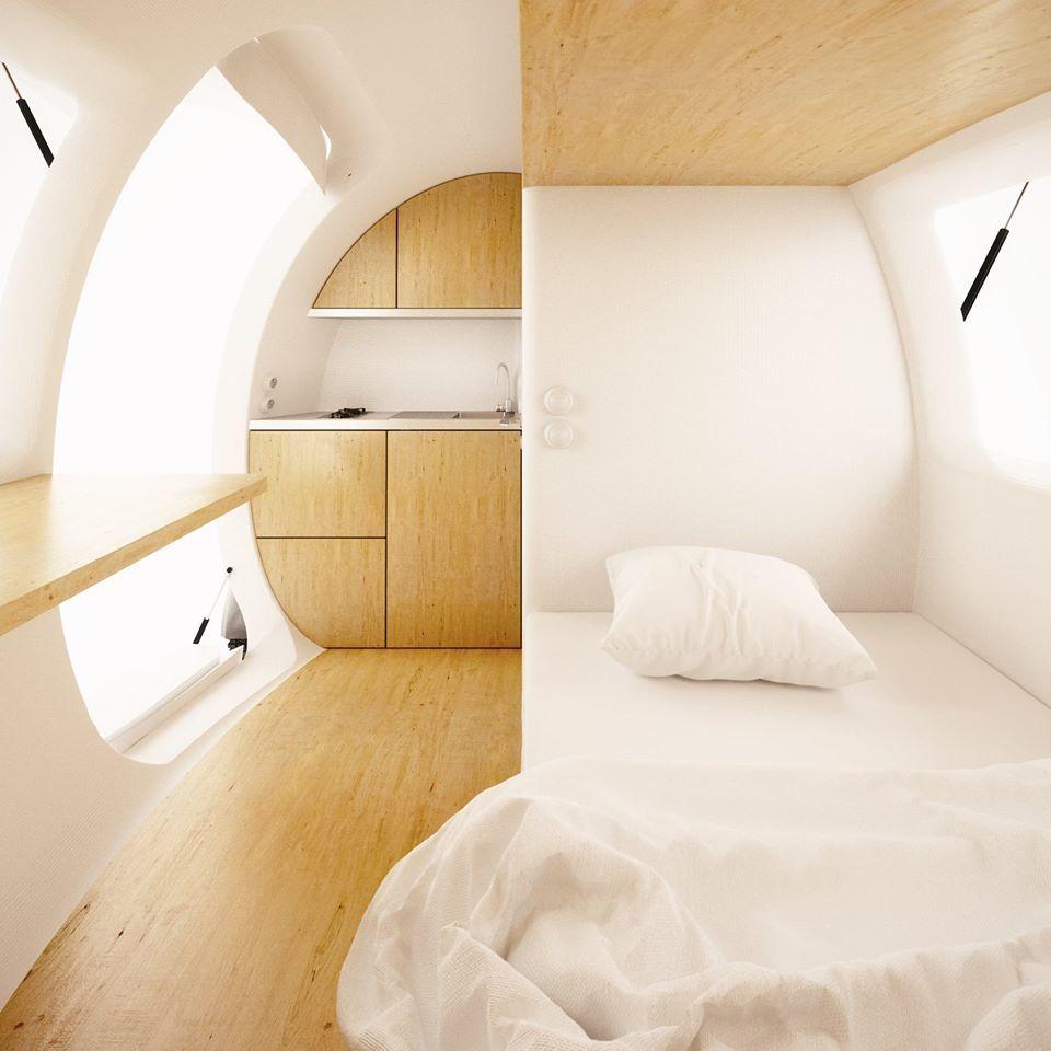 voyager dans une capsule