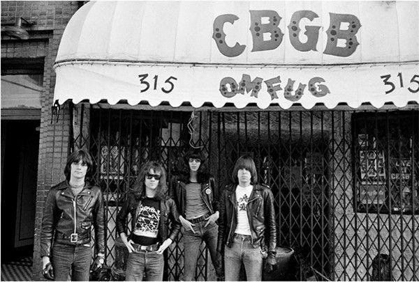 the ramones cbgb punk