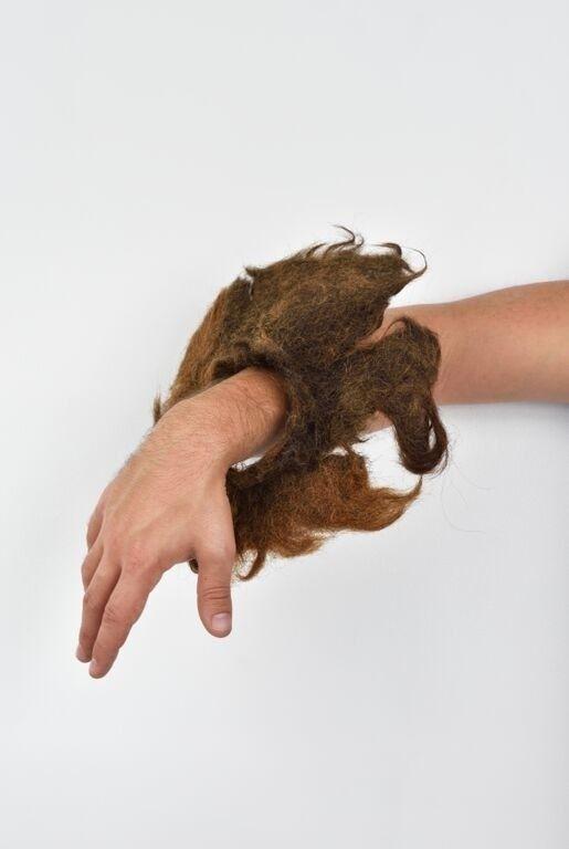 bracelet en cheveux