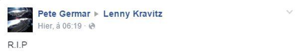 RIP Lenny Kravitz