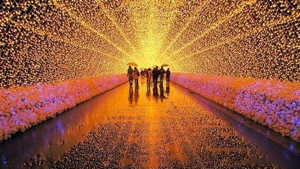 japon illuminations hiver