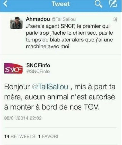 community managers SNCF